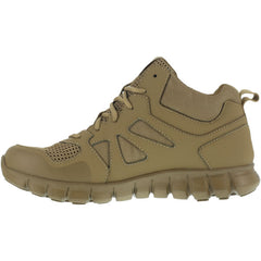 Reebok RB8406 Men's Sublite Cushion Soft Toe Tactical Mid - Coyote