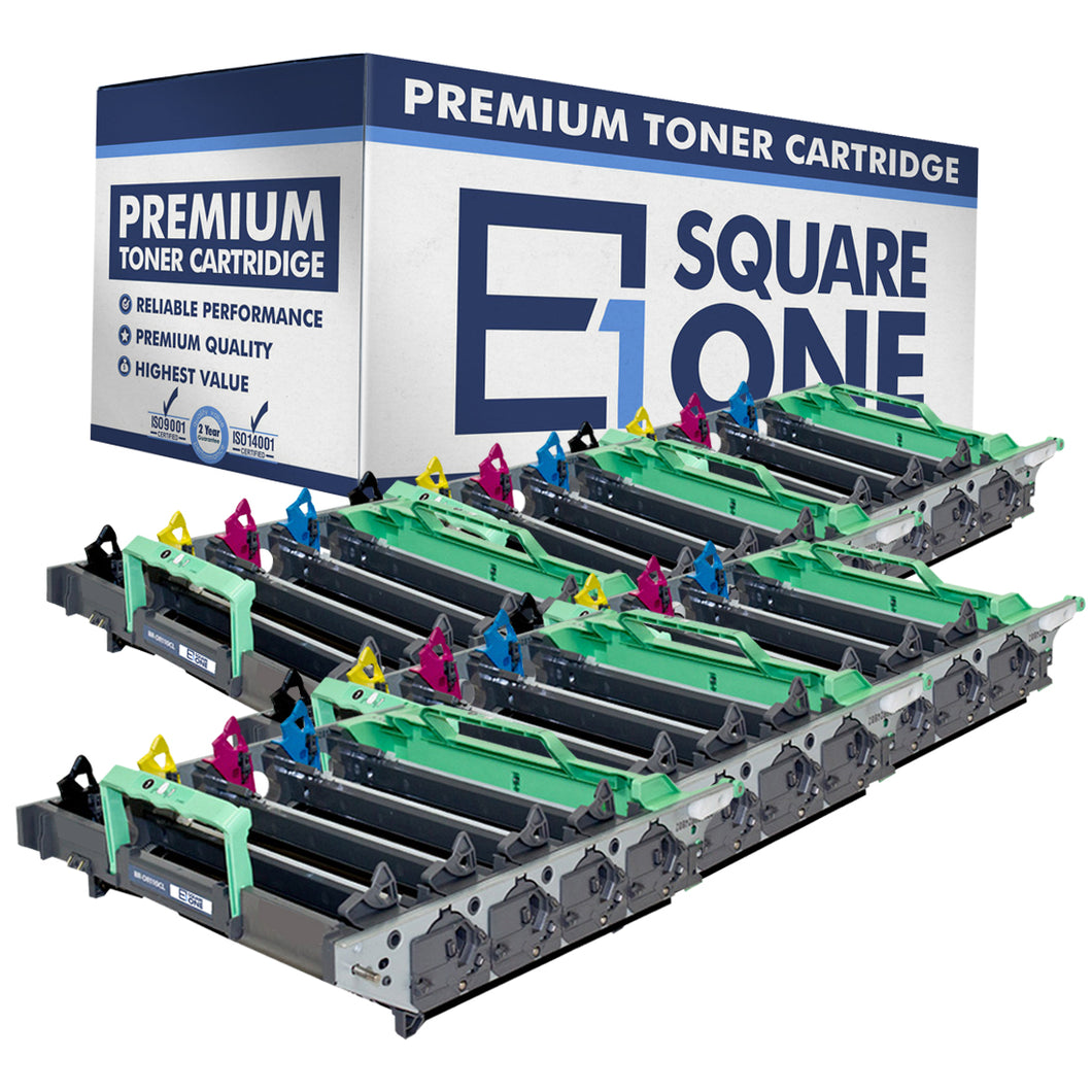 eSquareOne Compatible Drum Unit Replacement for Brother DR110CL DR130CL DR150CL DR170CL (Black, Cyan, Magenta, Yellow, 6-Pack)
