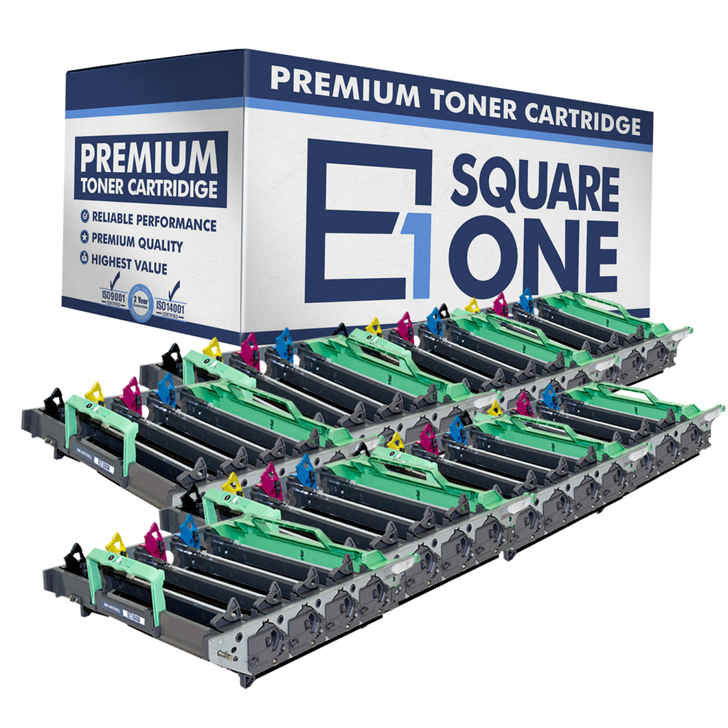 eSquareOne Compatible Drum Unit Replacement for Brother DR110CL DR130CL DR150CL DR170CL (Black, Cyan, Magenta, Yellow, 8-Pack)