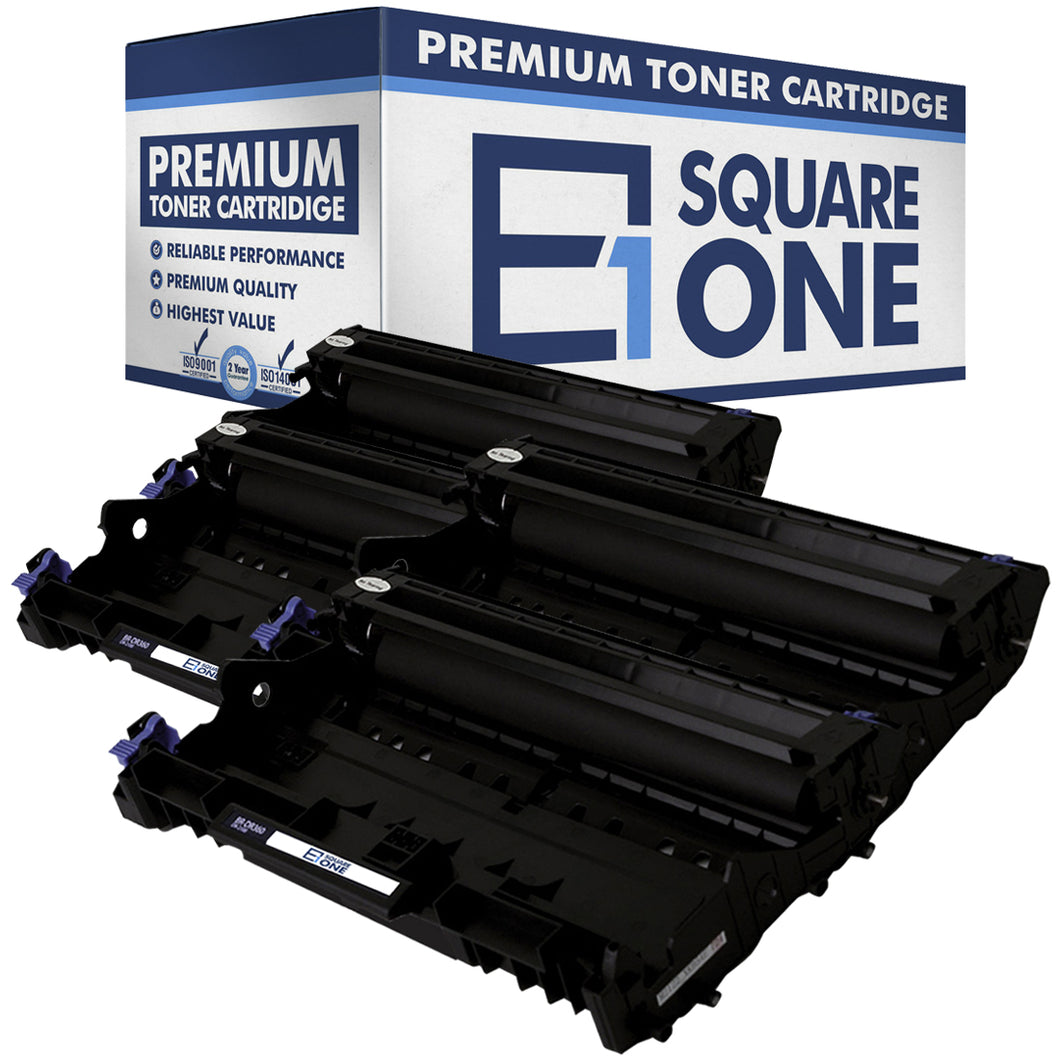 eSquareOne Compatible Drum Unit Replacement for Brother DR360 (Black, 4-Pack)