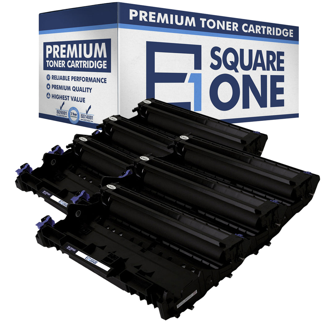 eSquareOne Compatible Drum Unit Replacement for Brother DR360 (Black, 6-Pack)