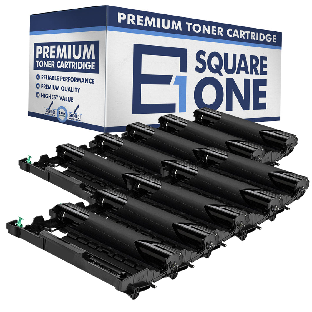 eSquareOne Compatible Drum Unit Replacement for Brother DR630 (Black, 10-Pack)