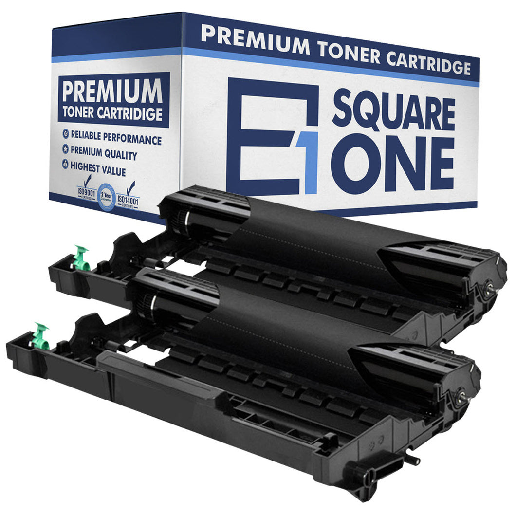 eSquareOne Compatible Drum Unit Replacement for Brother DR630 (Black, 2-Pack)