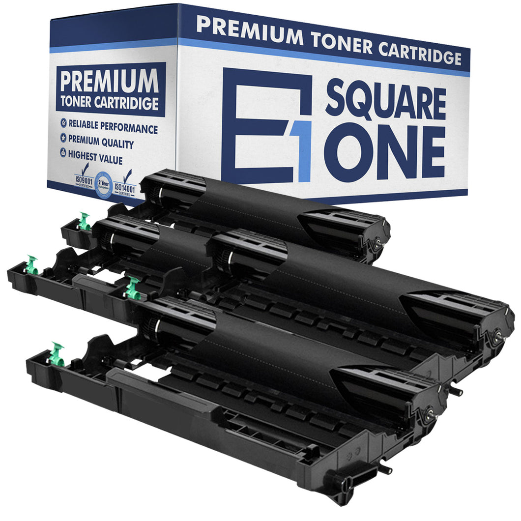 eSquareOne Compatible Drum Unit Replacement for Brother DR630 (Black, 4-Pack)
