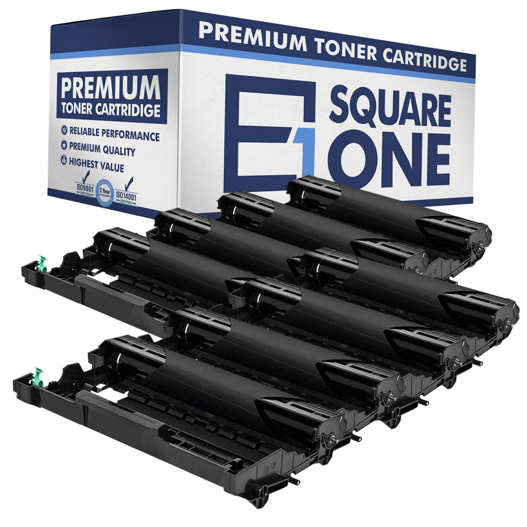 eSquareOne Compatible Drum Unit Replacement for Brother DR630 (Black, 8-Pack)