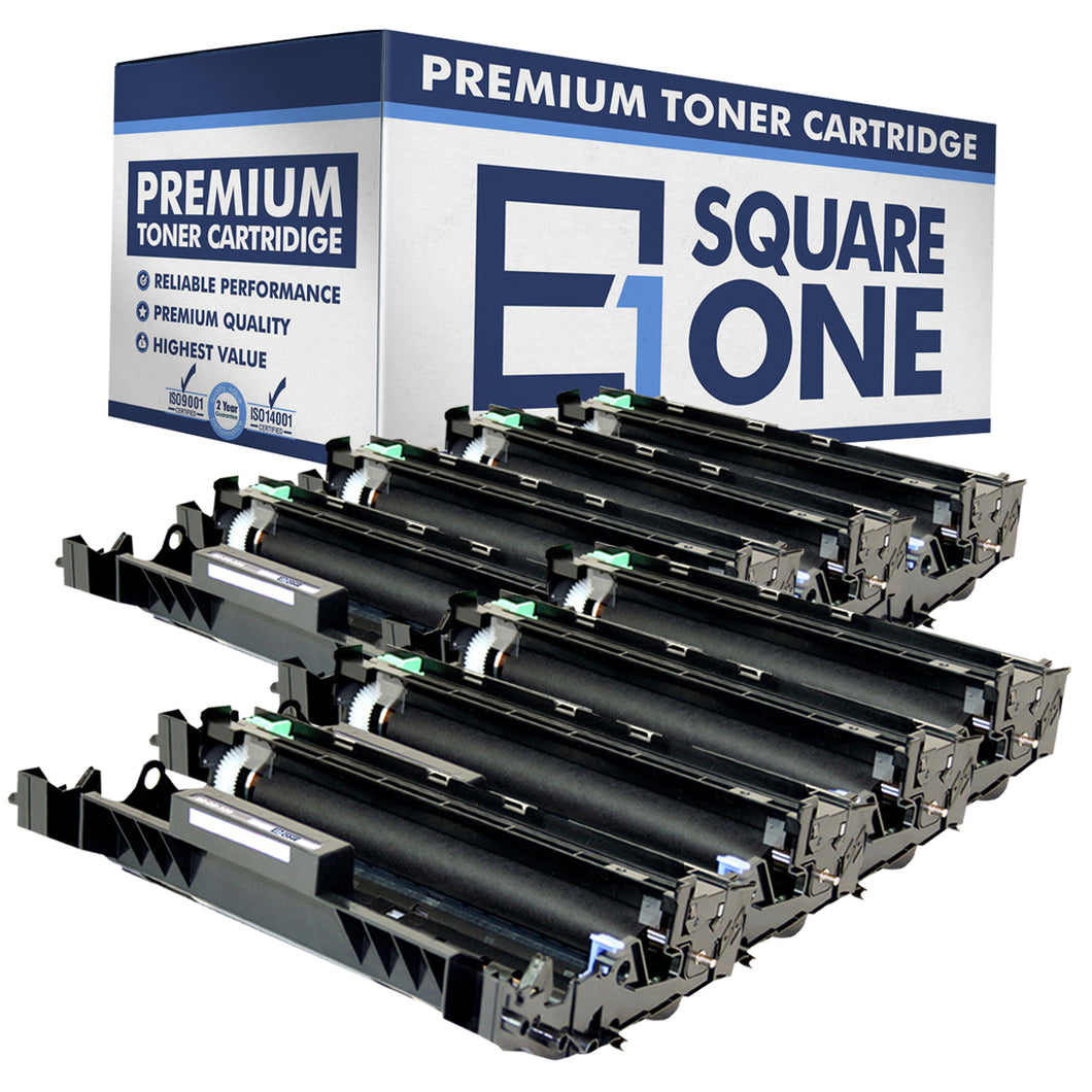 eSquareOne Compatible Drum Unit Replacement for Brother DR720 (Black, 8-Pack)