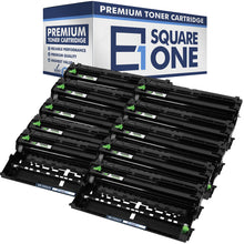 eSquareOne Compatible Drum Unit Replacement for Brother DR820 (Black, 10-Pack)