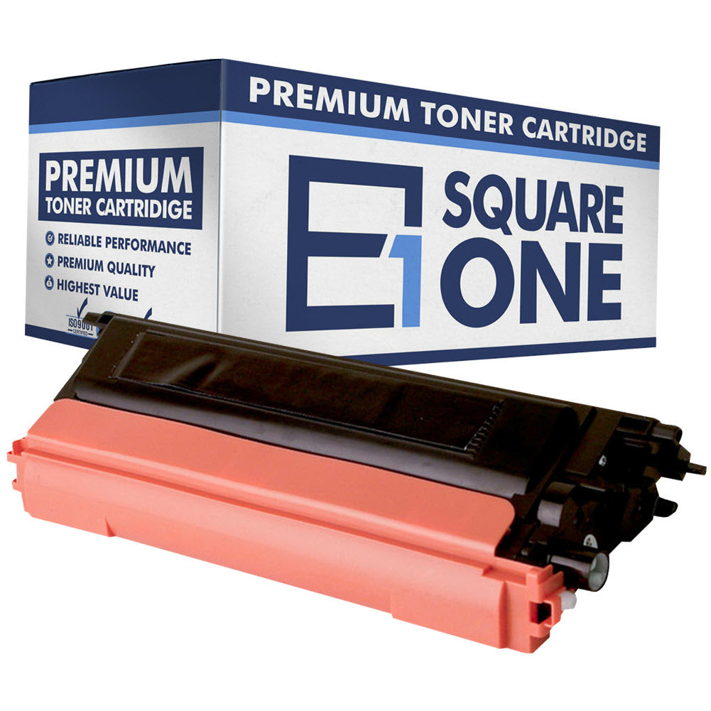 eSquareOne Compatible High Yield Toner Cartridge Replacement for TN115BK TN110BK (Black, 1-Pack)