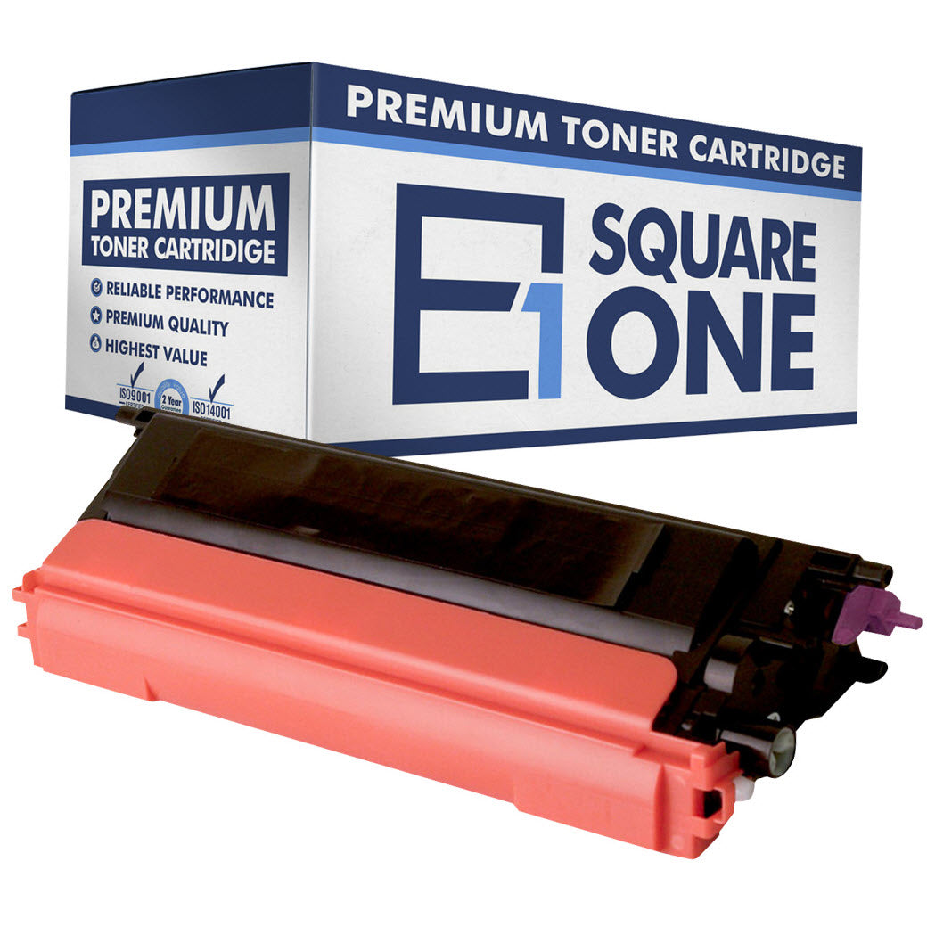 eSquareOne Compatible High Yield Toner Cartridge Replacement for TN115M TN110M (Magenta, 1-Pack)