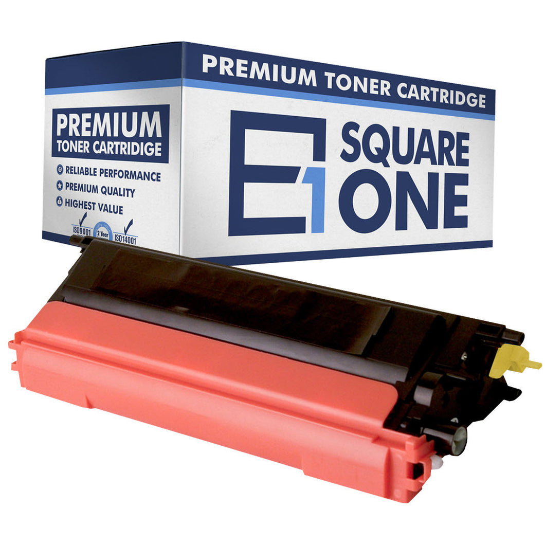 eSquareOne Compatible High Yield Toner Cartridge Replacement for TN115Y TN110Y (Yellow, 1-Pack)