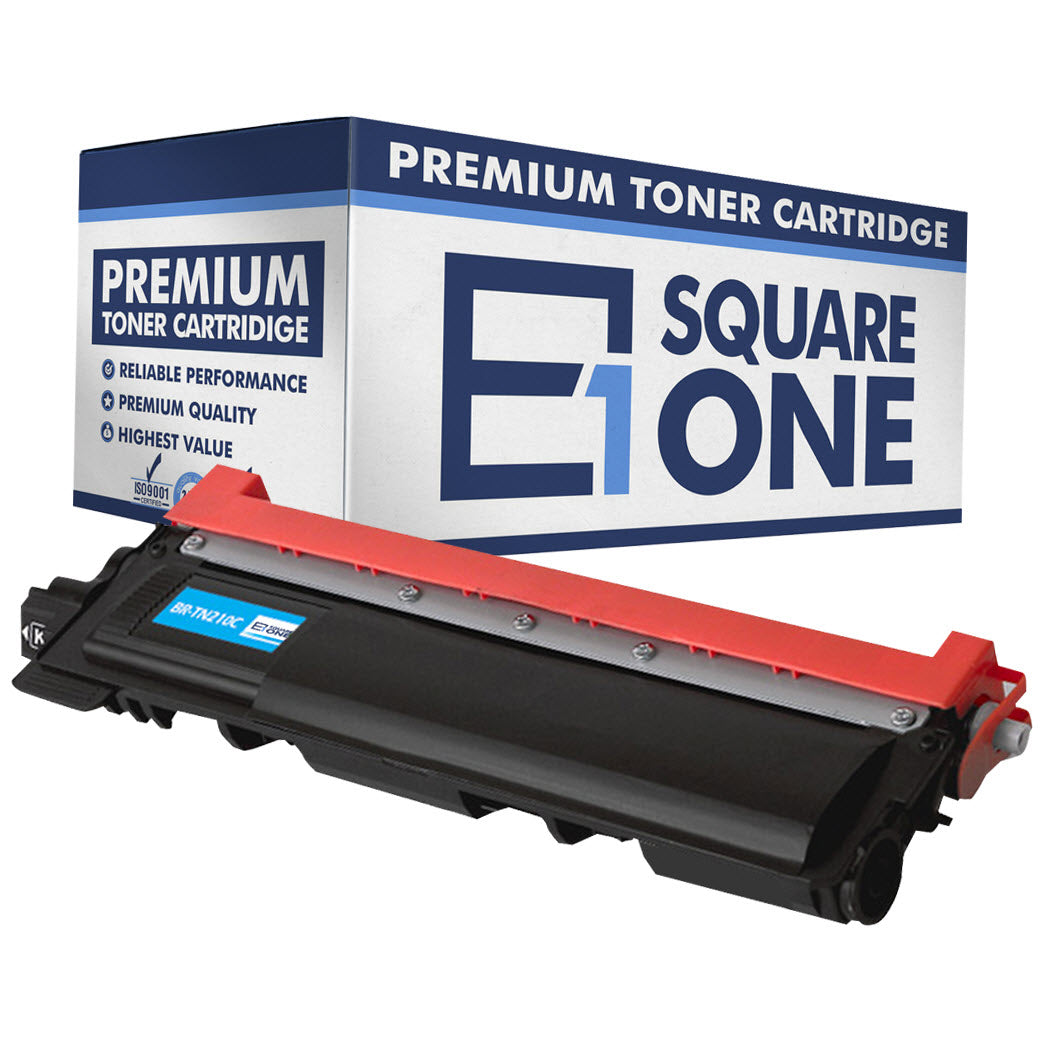 eSquareOne Compatible Toner Cartridge Replacement for TN210C (Cyan, 1-Pack)