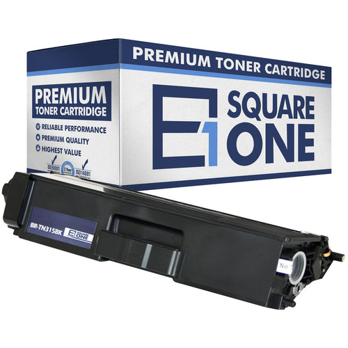 eSquareOne Compatible (High Yield) Toner Cartridge Replacement for Brother TN310BK TN315BK (Black, 1-Pack)