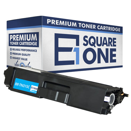 eSquareOne Compatible (High Yield) Toner Cartridge Replacement for Brother TN310C TN315C (Cyan, 1-Pack)