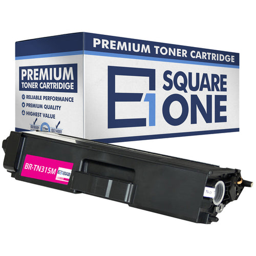 eSquareOne Compatible (High Yield) Toner Cartridge Replacement for Brother TN310M TN315M (Magenta, 1-Pack)