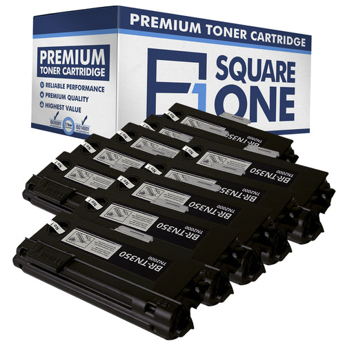 eSquareOne Compatible High Yield Toner Cartridge Replacement for Brother TN350 (Black, 10-Pack)