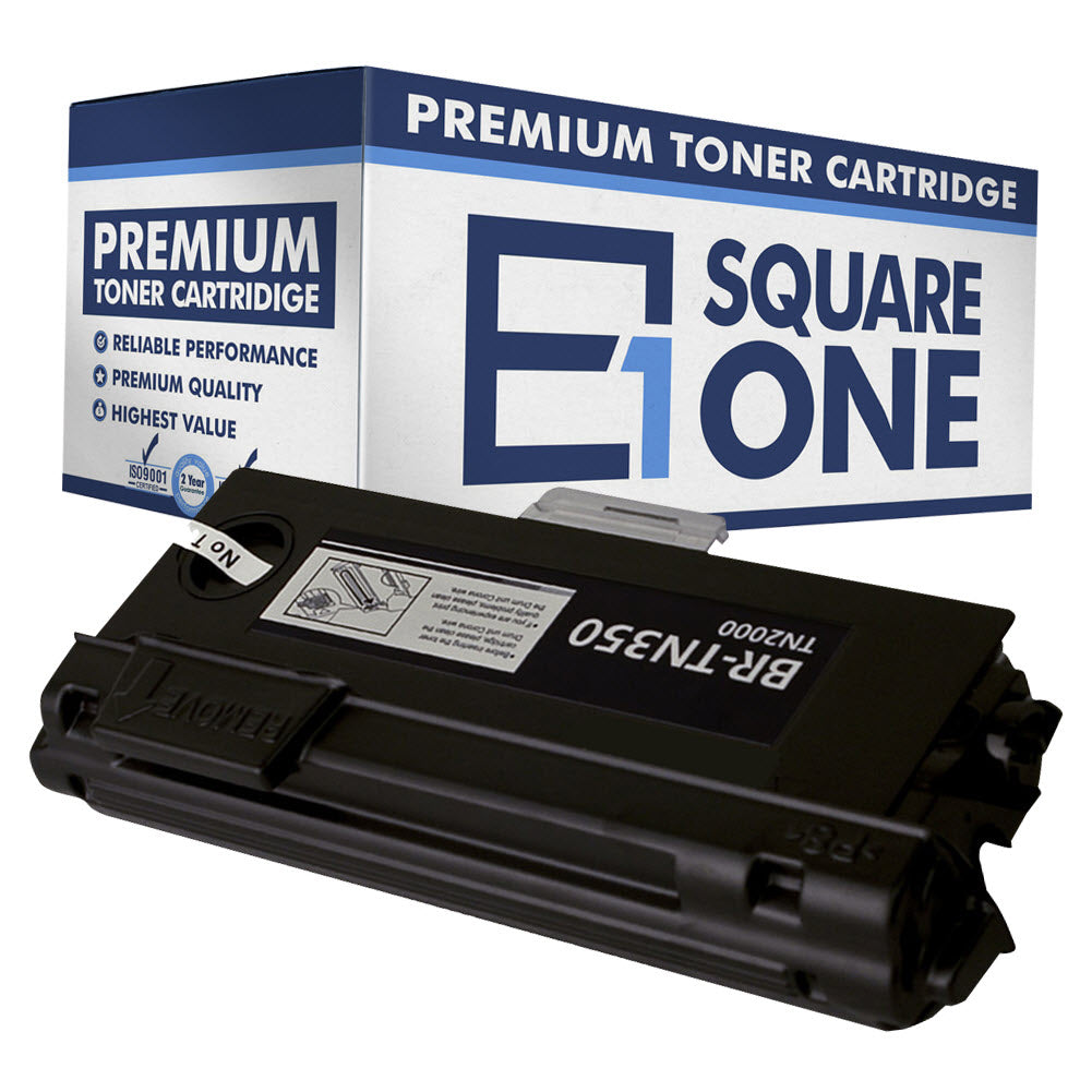 eSquareOne Compatible High Yield Toner Cartridge Replacement for Brother TN350 (Black, 1-Pack)
