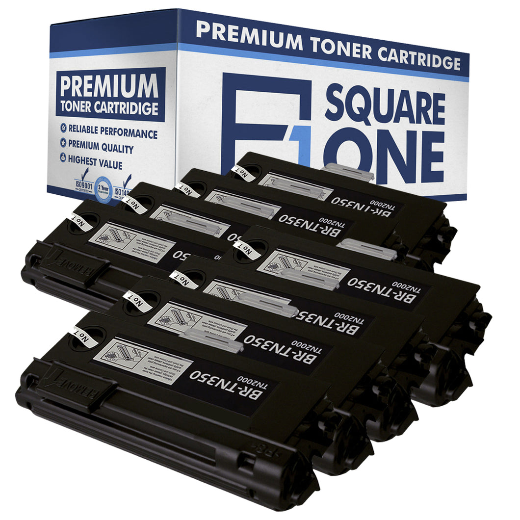 eSquareOne Compatible High Yield Toner Cartridge Replacement for Brother TN350 (Black, 8-Pack)