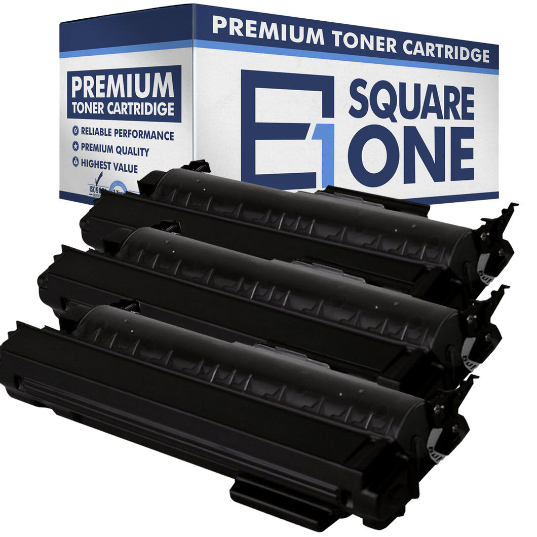 eSquareOne Compatible High Yield Toner Cartridge Replaces Brother TN360 TN330 (Black, 3-Pack)