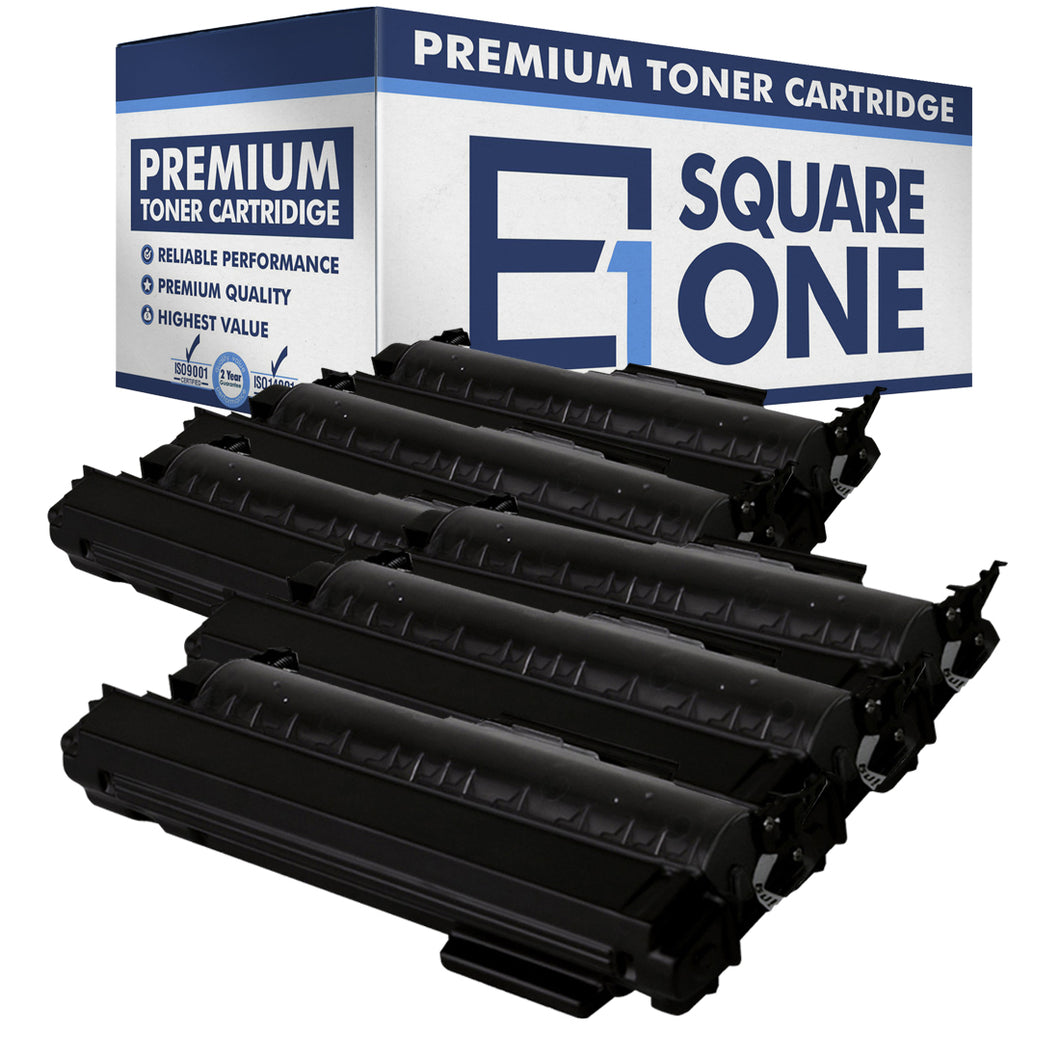 eSquareOne Compatible High Yield Toner Cartridge Replaces Brother TN360 TN330 (Black, 6-Pack)