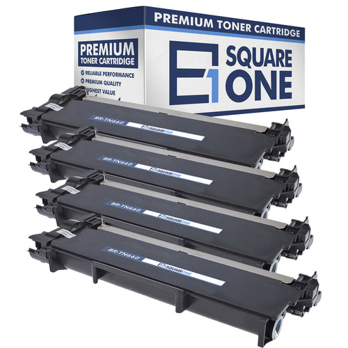 eSquareOne Compatible High Yield Toner Cartridge Replacement for Brother TN660 TN630 (Black, 4-Pack)