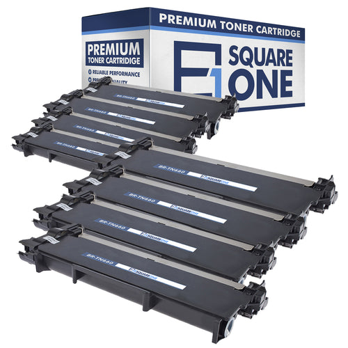 eSquareOne Compatible High Yield Toner Cartridge Replacement for Brother TN660 TN630 (Black, 8-Pack)