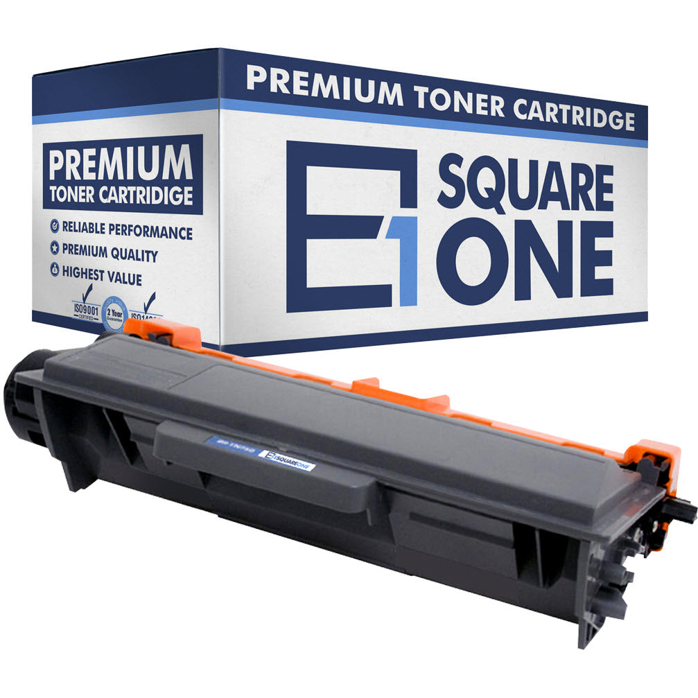 eSquareOne Compatible High Yield Toner Cartridge Replacement for Brother TN750 TN720 (Black, 1-Pack)