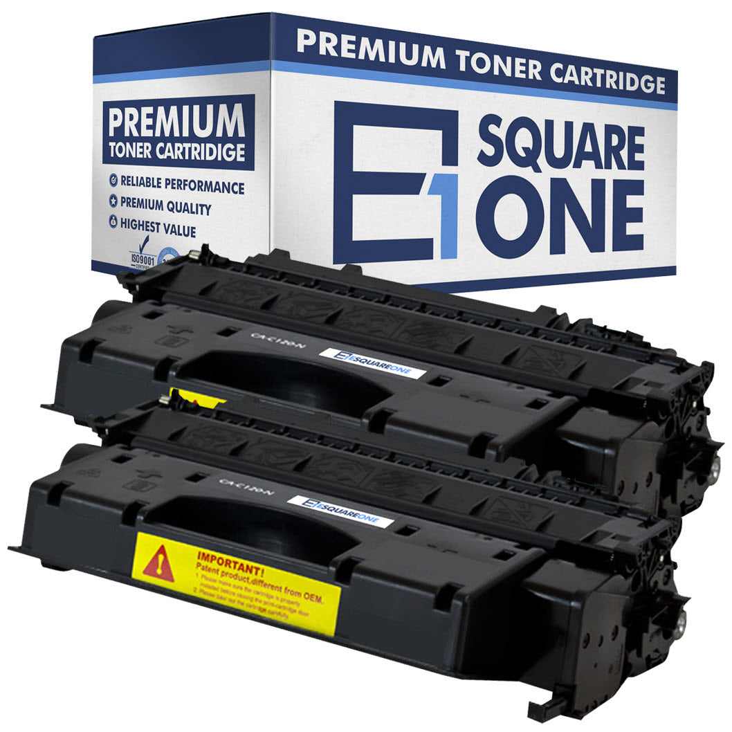 eSquareOne Compatible Toner Cartridge Replacement for Canon C120 2617B001AA (Black, 2-Pack)