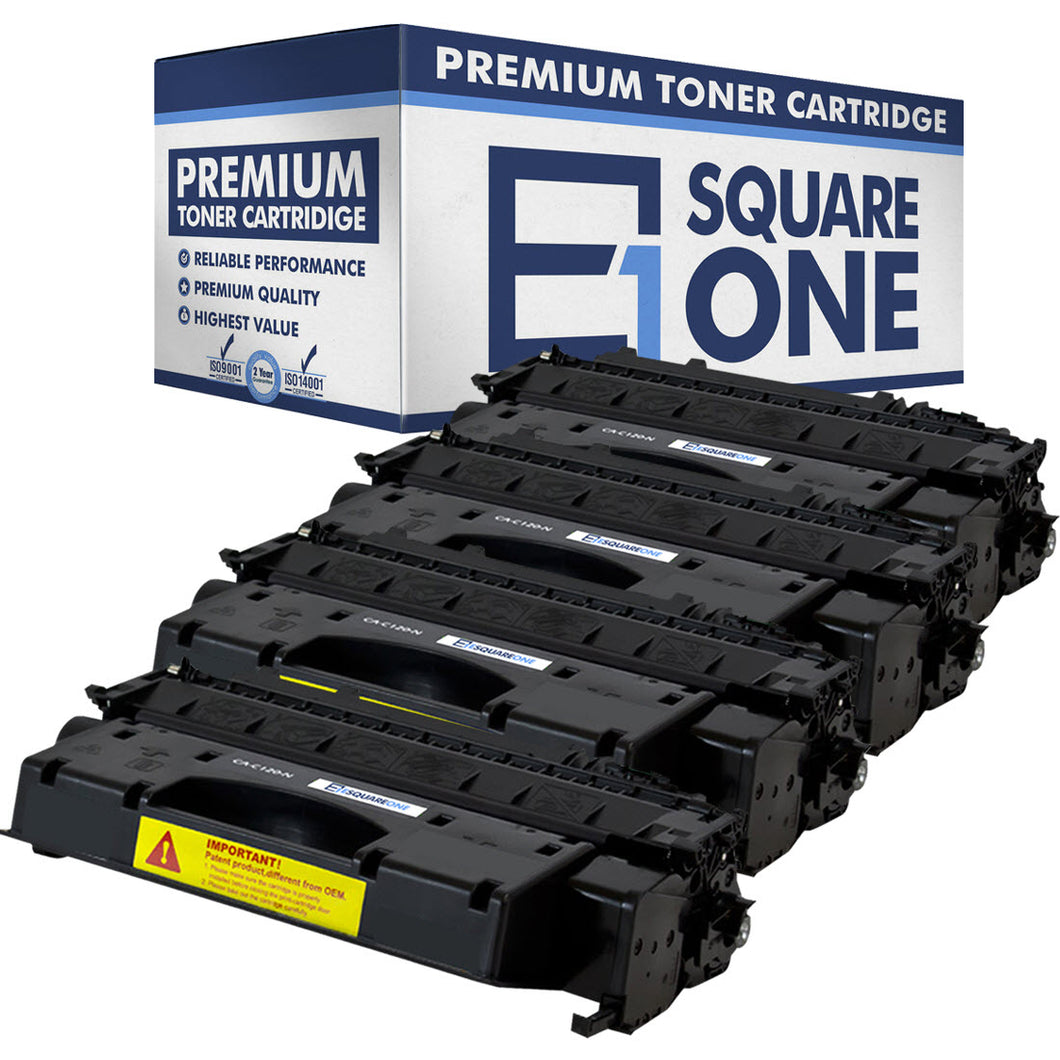 eSquareOne Compatible Toner Cartridge Replacement for Canon C120 2617B001AA (Black, 4-Pack)