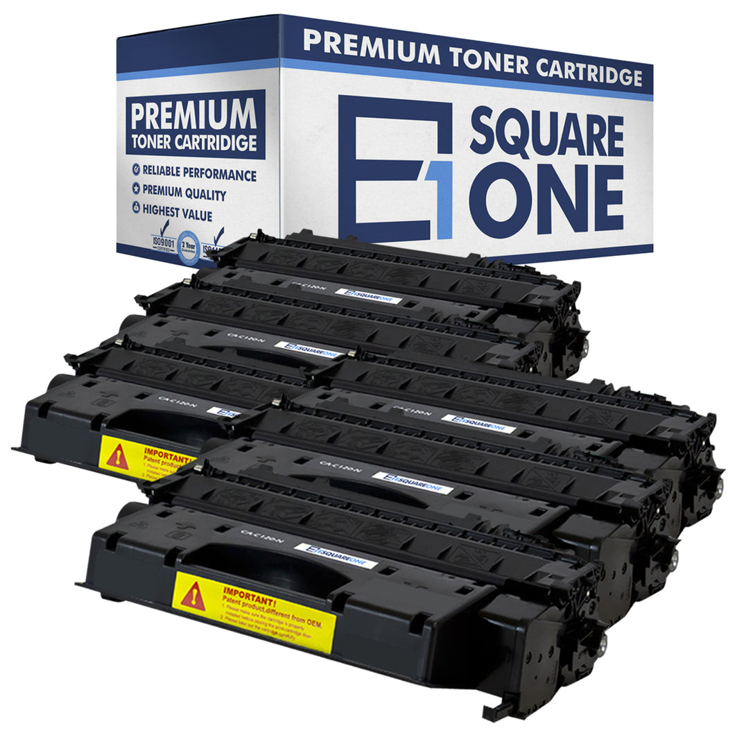eSquareOne Compatible Toner Cartridge Replacement for Canon C120 2617B001AA (Black, 6-Pack)