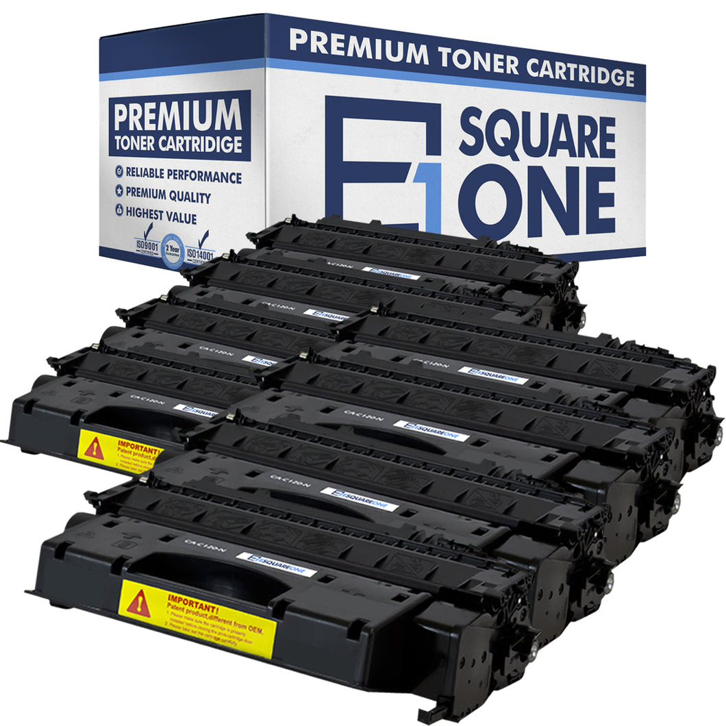eSquareOne Compatible Toner Cartridge Replacement for Canon C120 2617B001AA (Black, 8-Pack)