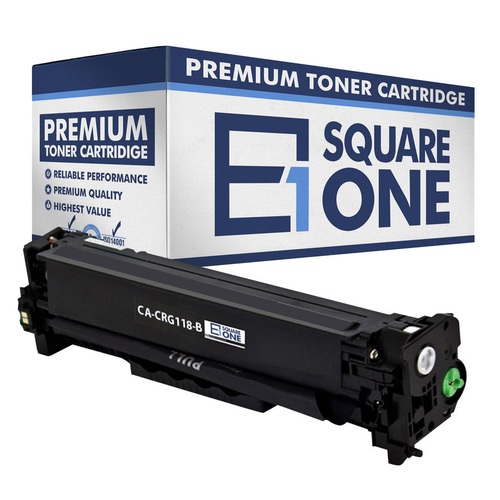 eSquareOne Compatible Toner Cartridge Replacement for Canon 118 (CRG-118) 2662B001AA (Black, 1-Pack)