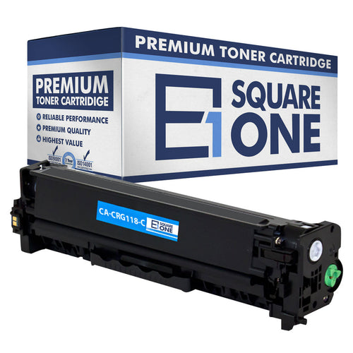 eSquareOne Compatible Toner Cartridge Replacement for Canon 118 (CRG-118) 2661B001AA (Cyan, 1-Pack)