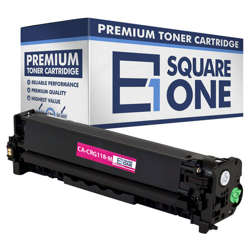 eSquareOne Compatible Toner Cartridge Replacement for Canon 118 (CRG-118) 2660B001AA (Magenta, 1-Pack)