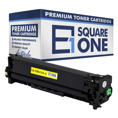 eSquareOne Compatible Toner Cartridge Replacement for Canon 118 (CRG-118) 2659B001AA (Yellow, 1-Pack)