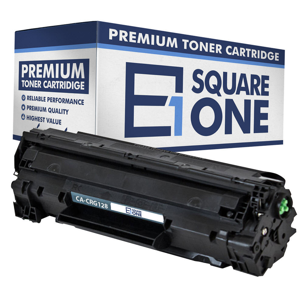 eSquareOne Compatible Toner Cartridge Replacement for Canon 128 3500B001AA (Black, 1-Pack)