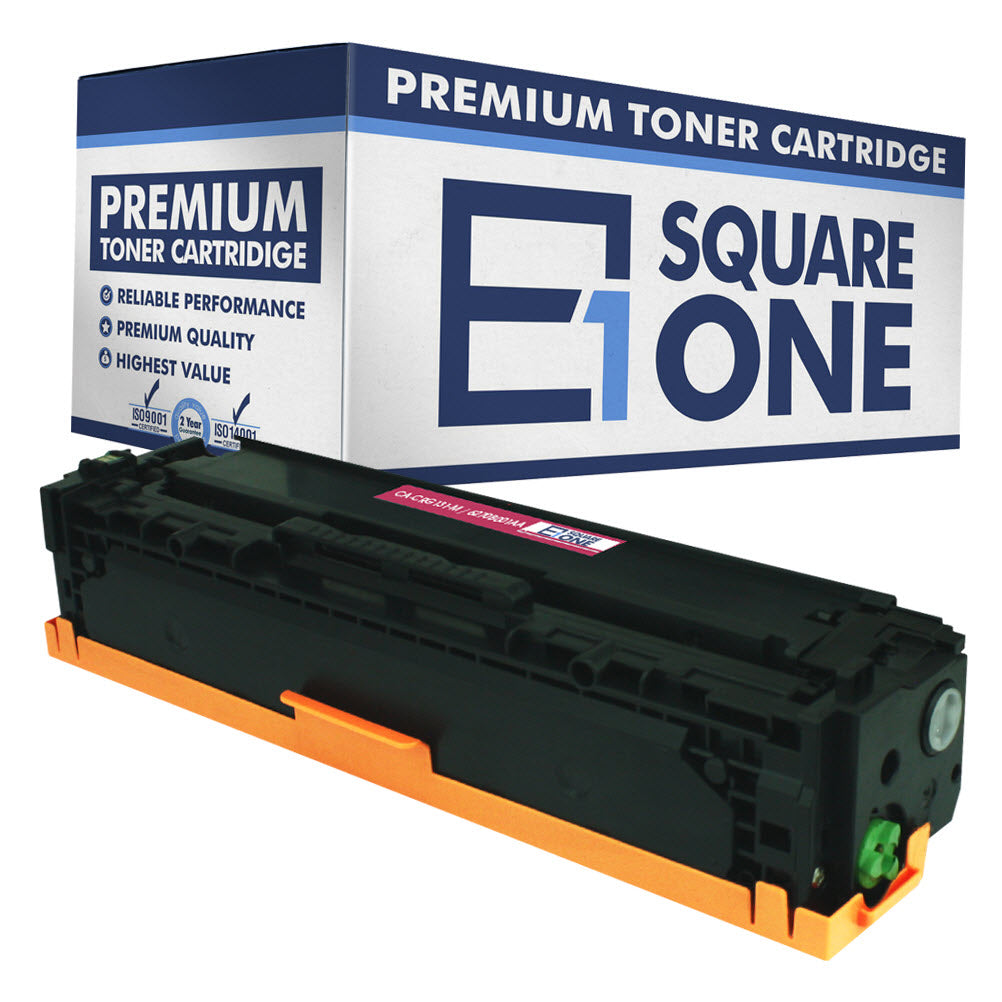 eSquareOne Compatible Toner Cartridge Replacement for Canon 131H 6270B001AA (Magenta, 1-Pack)