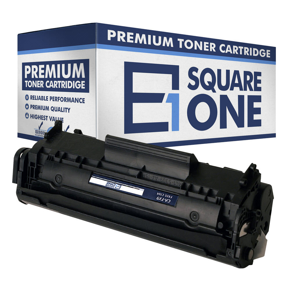 eSquareOne Compatible Toner Cartridge Replacement for Canon 104 FX9 FX10 (Black, 1-Pack)