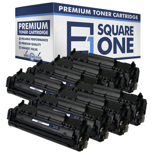 eSquareOne Compatible Toner Cartridge Replacement for Canon 104 FX9 FX10 (Black, 8-Pack)