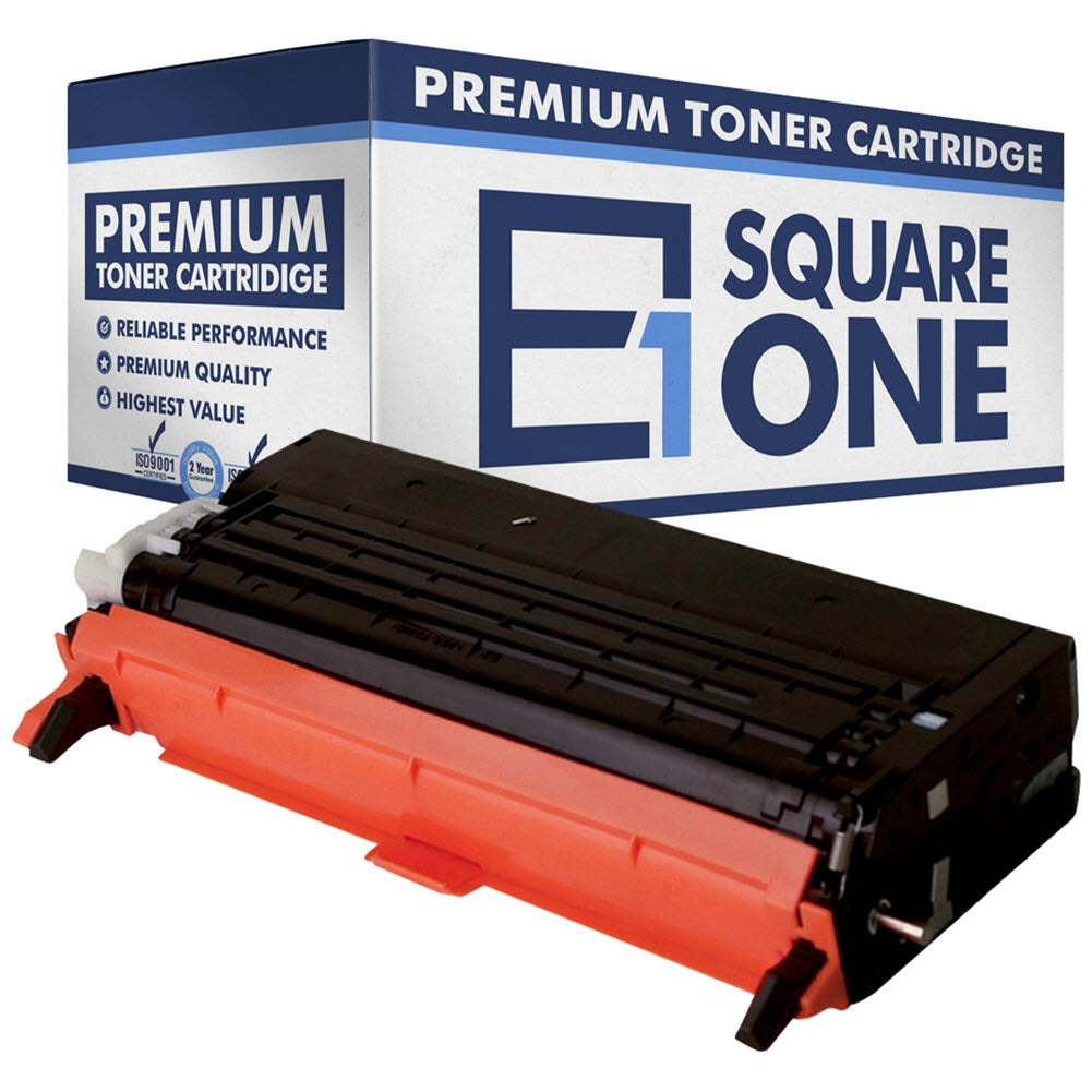 eSquareOne Compatible (High Yield) Toner Cartridge Replacement for DELL 330-1198 G486F (Black, 1-Pack)