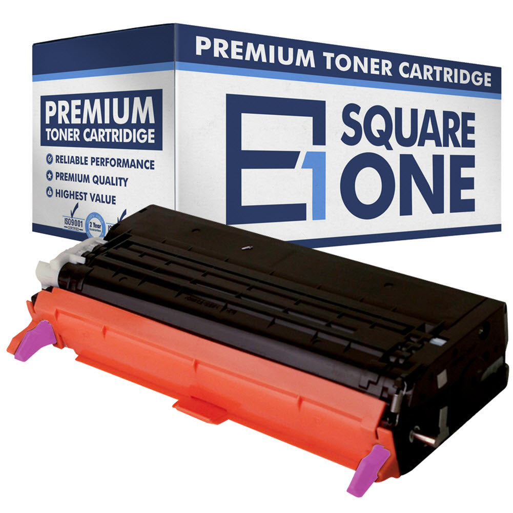 eSquareOne Compatible (High Yield) Toner Cartridge Replacement for DELL 330-1200 G484F (Magenta, 1-Pack)