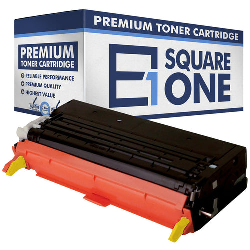 eSquareOne Compatible (High Yield) Toner Cartridge Replacement for DELL 330-1204 G485F (Yellow, 1-Pack)