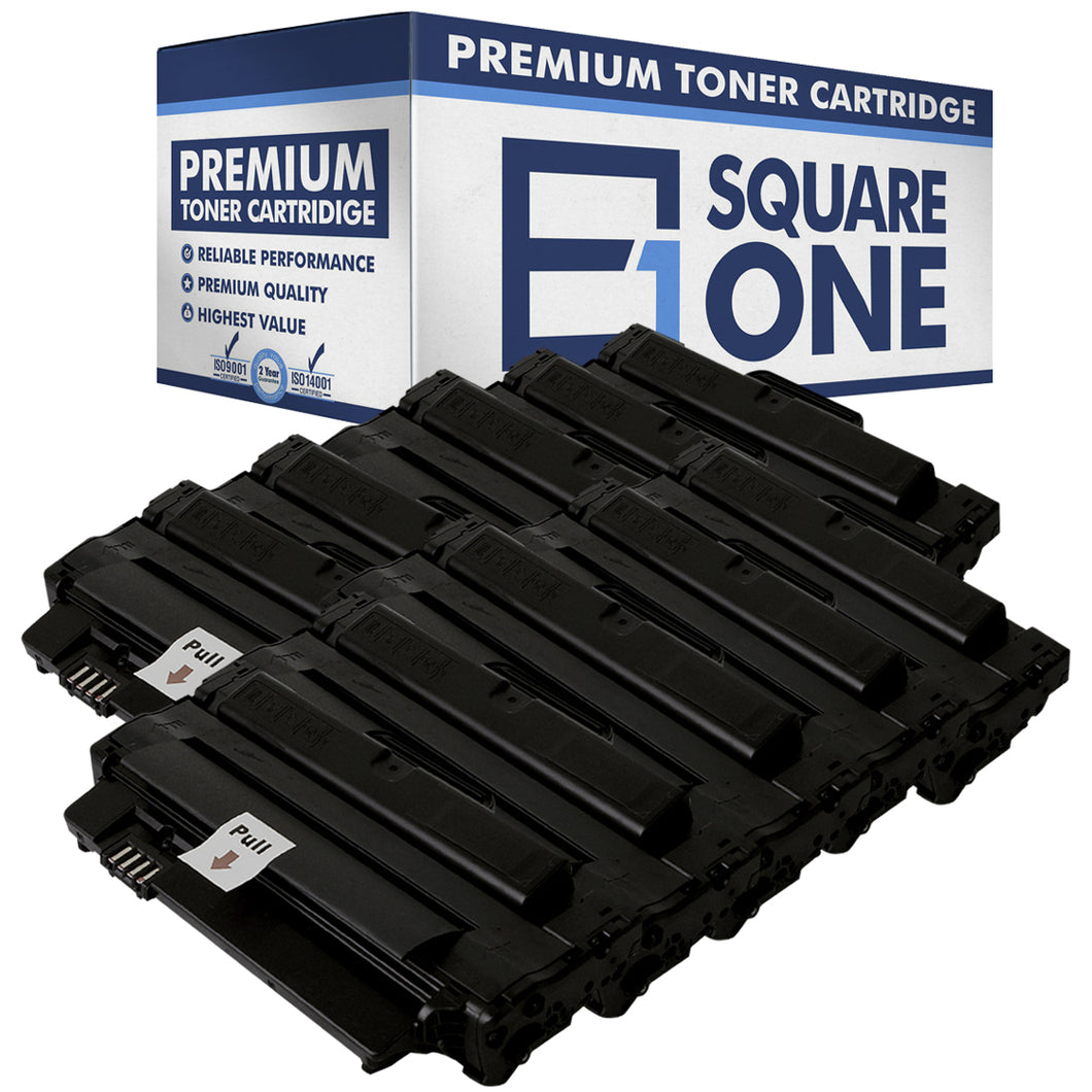 eSquareOne Compatible High Yield Toner Cartridge Replacement for DELL 2MMJP 330-9523 | 7H53W 593-10961 (Black, 10-Pack)
