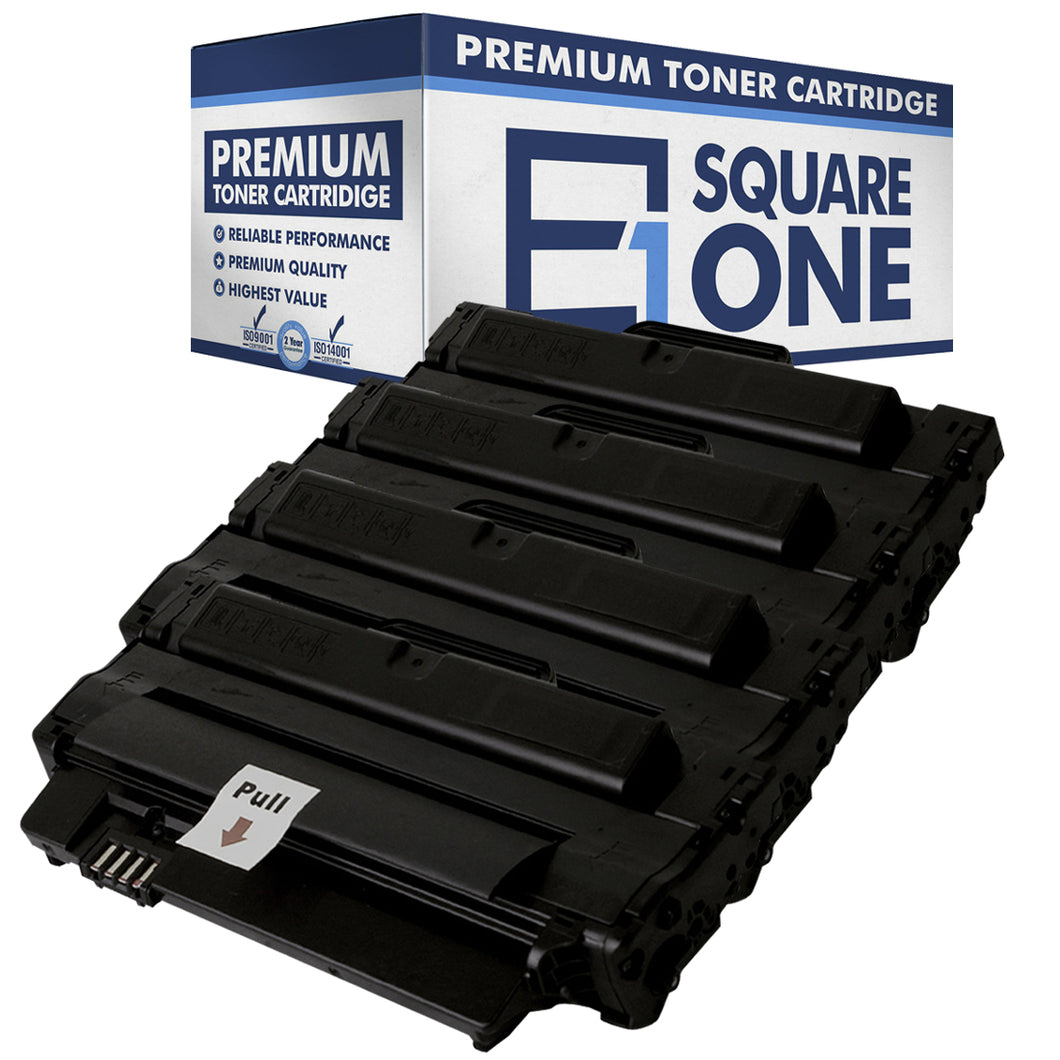 eSquareOne Compatible High Yield Toner Cartridge Replacement for DELL 2MMJP 330-9523 | 7H53W 593-10961 (Black, 4-Pack)