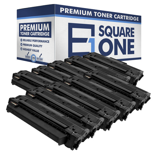 eSquareOne Compatible Toner Cartridge Replacement for DELL 331-7328 RWXNT DRYXV (Black, 10-Pack)