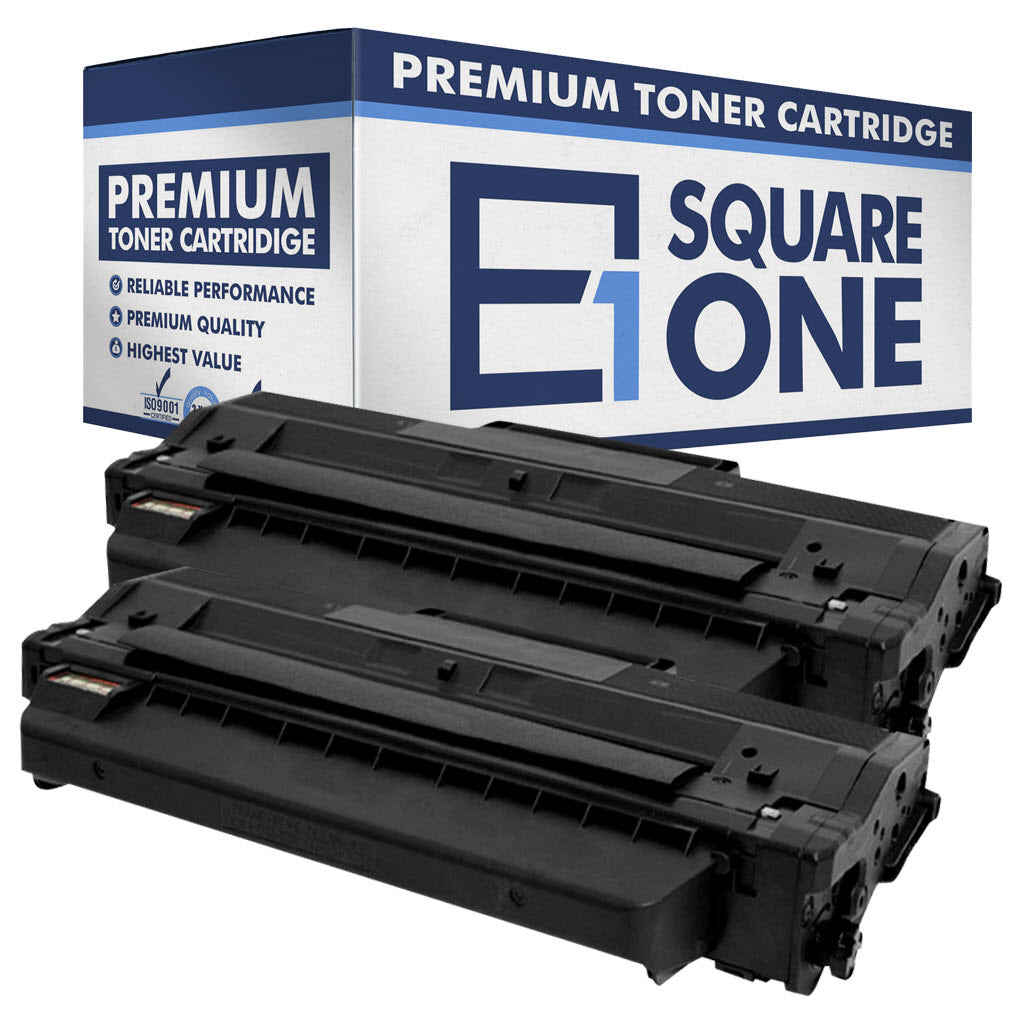 eSquareOne Compatible Toner Cartridge Replacement for DELL 331-7328 RWXNT DRYXV (Black, 2-Pack)
