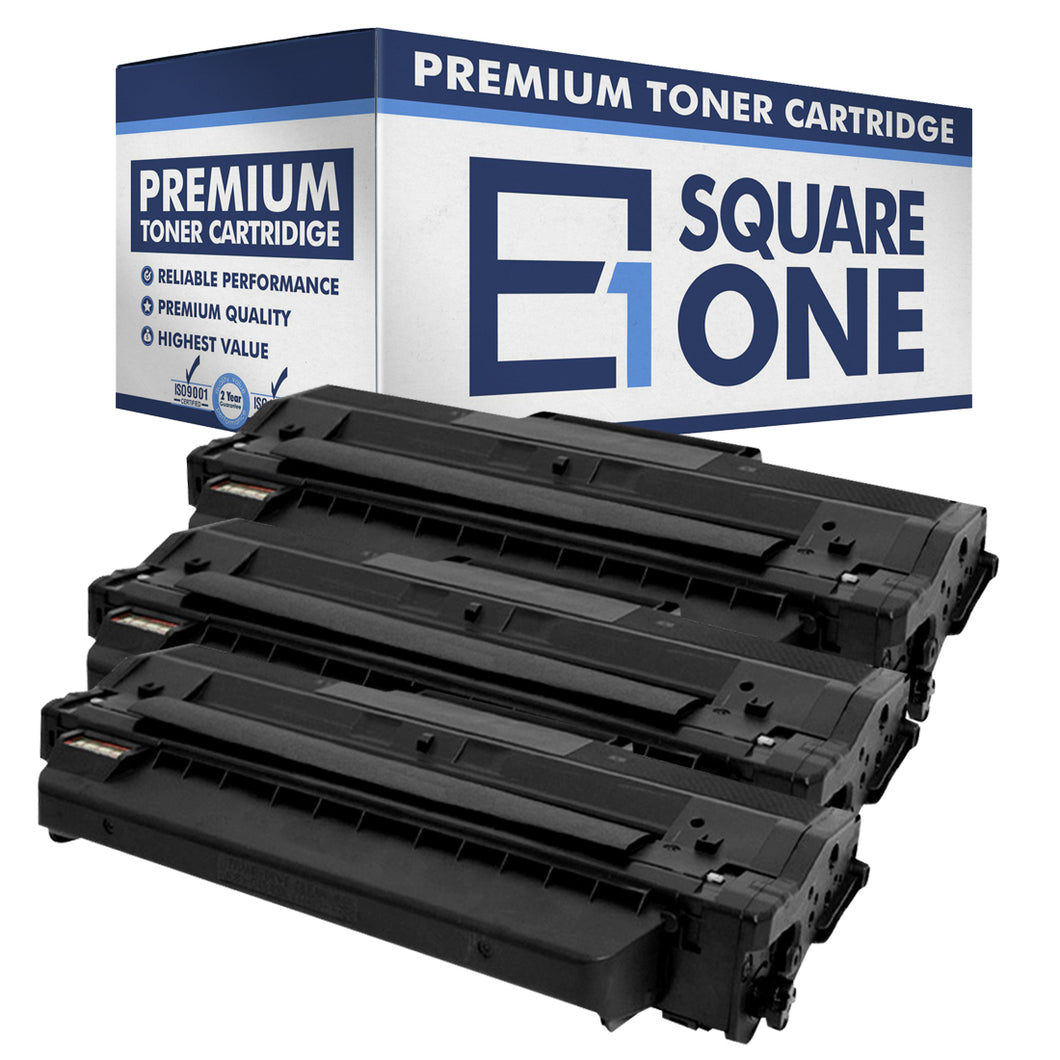 eSquareOne Compatible Toner Cartridge Replacement for DELL 331-7328 RWXNT DRYXV (Black, 3-Pack)