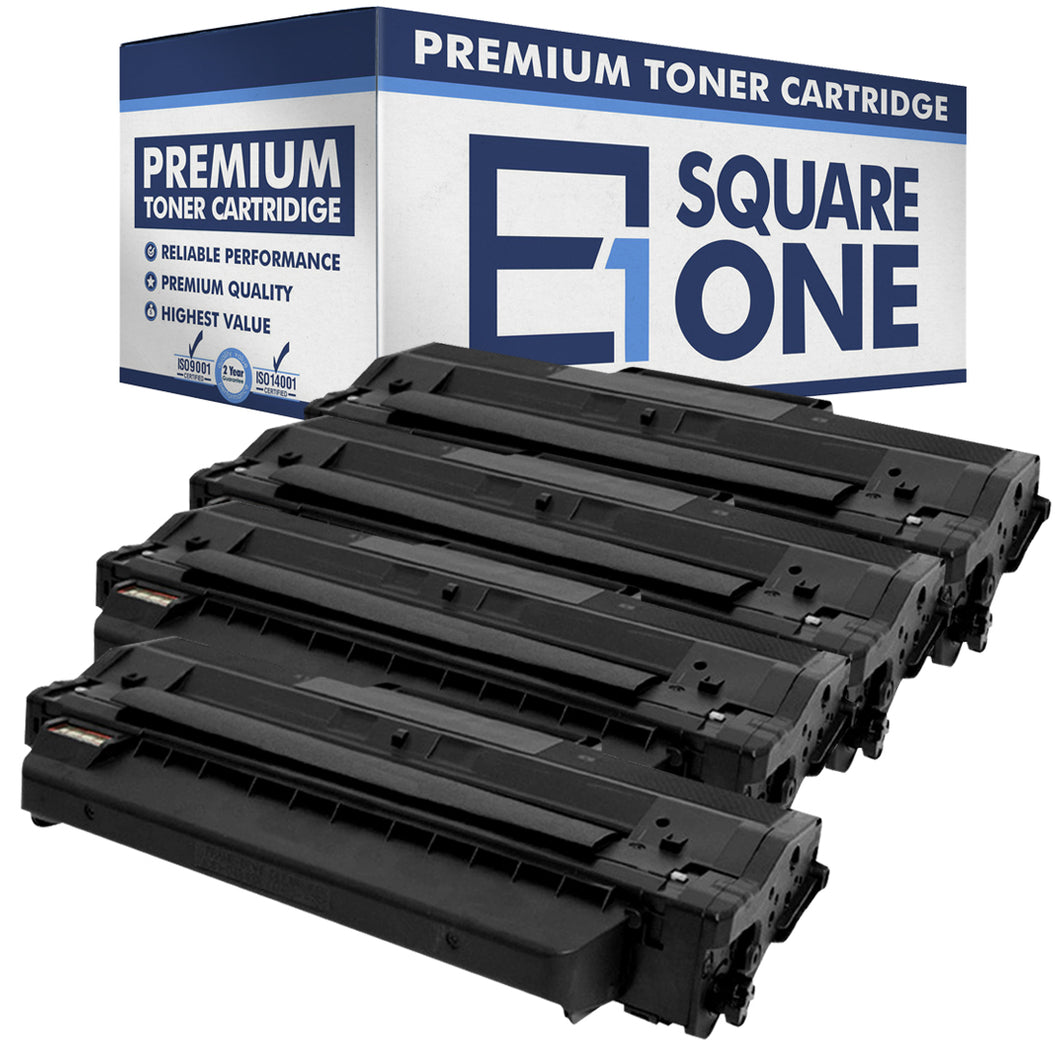 eSquareOne Compatible Toner Cartridge Replacement for DELL 331-7328 RWXNT DRYXV (Black, 4-Pack)