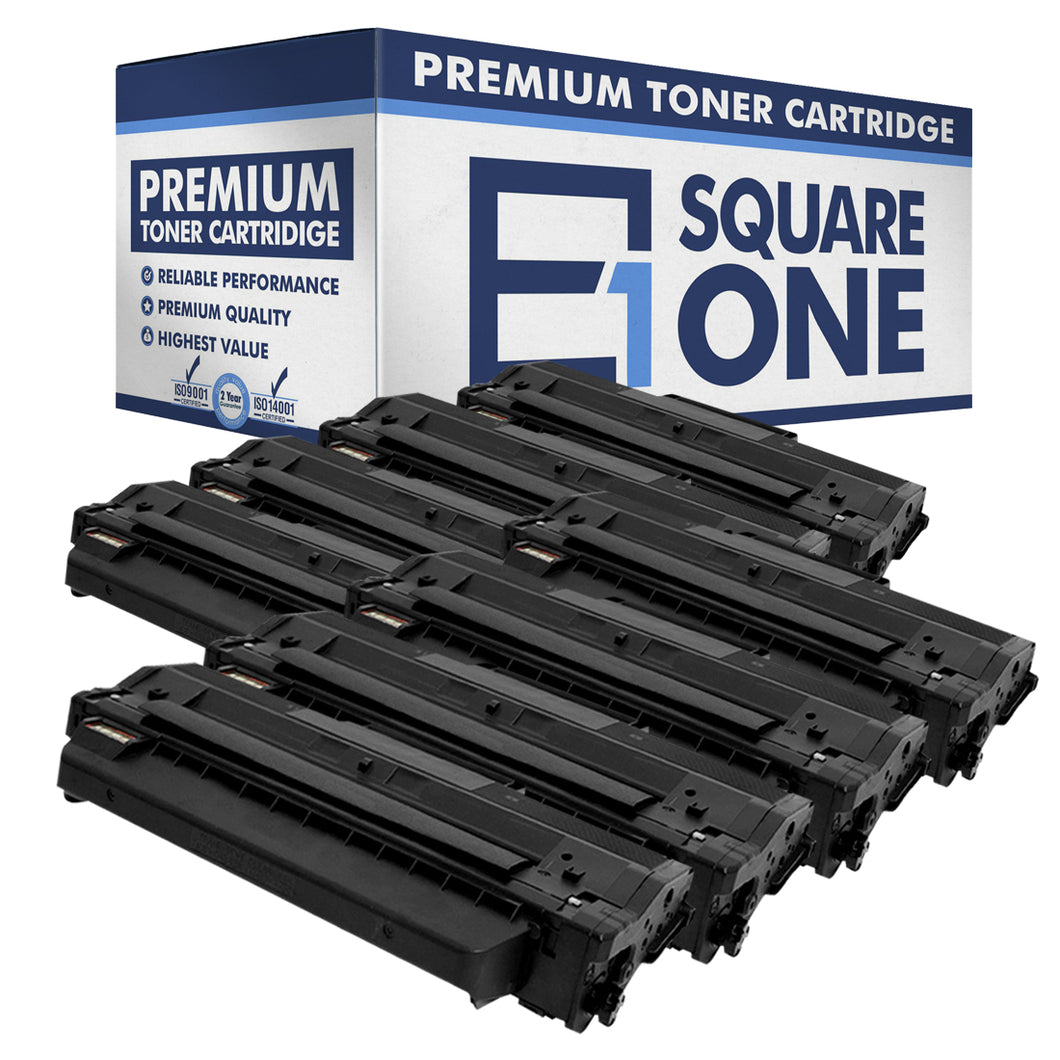 eSquareOne Compatible Toner Cartridge Replacement for DELL 331-7328 RWXNT DRYXV (Black, 8-Pack)
