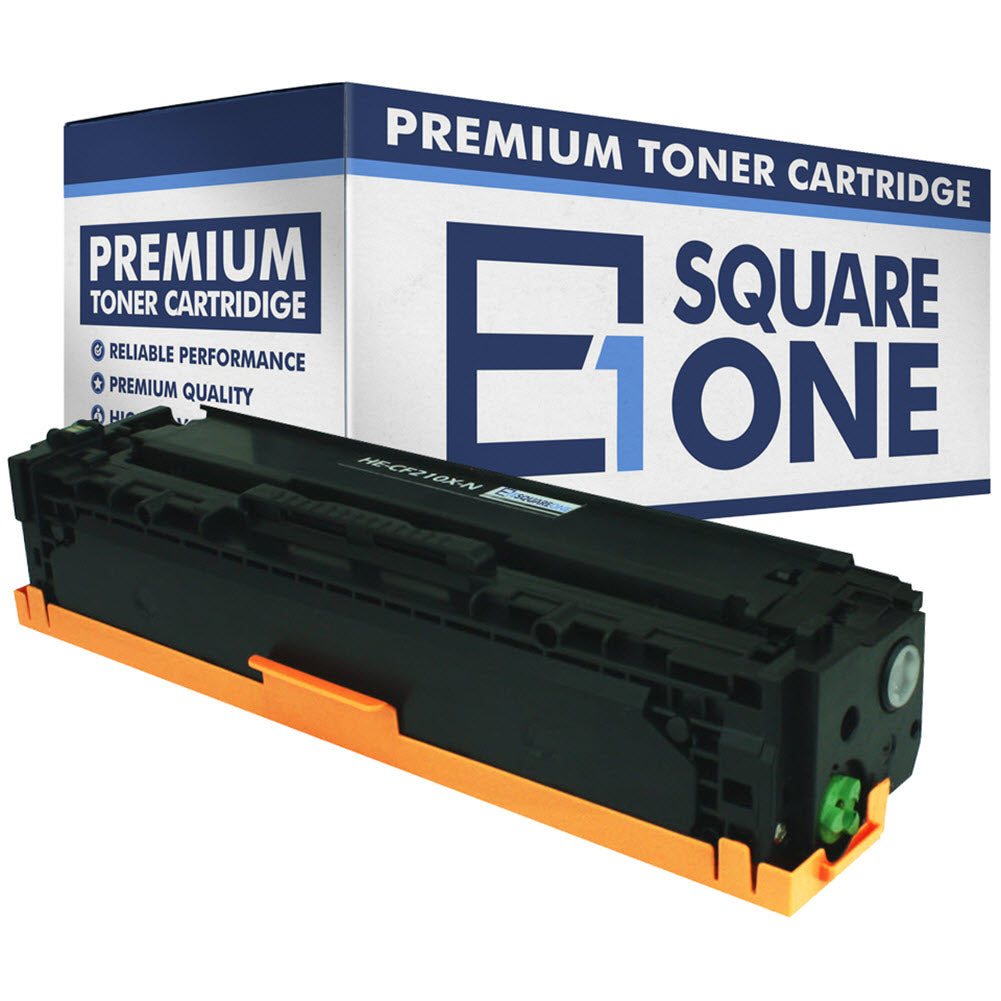eSquareOne Compatible High Yield Toner Cartridge Replacement for HP 131X CF210X (Black, 1-Pack)