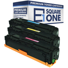 eSquareOne Compatible Toner Cartridge Set Replacement for HP 131A / CF211A CF212A CF213A (Cyan, Yellow, Magenta)